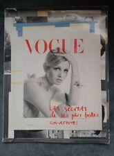 ***RARE VINTAGE PARIS VOGUE SUPPLEMENT OCTOBER 2009- TWIGGY- 90 YEAR ANIVERSARY