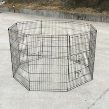 "36"" x 8 Panels Pet Playpen Fold Exercise Cage Fence Enclosure cash on pick up"