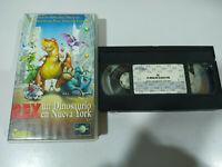 Rex Un Dinosaurio en Nueva York Steven Spielberg - VHS Cinta Tape Español