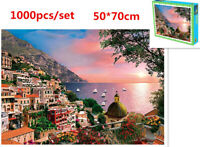 1000 Pieces Jigsaw Puzzles Educational Toy Charming Landscape Scenery Puzzle Toy