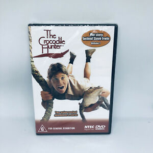THE CROCODILE HUNTER DVD Vol One The Story Behind Steve Irwin VGC FREE SHIPPING
