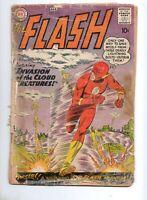 Flash #111 2ND APP KID FLASH! 1960 RARE! Fair 1.0 Complete! 1ST CLOUD CREATURES!