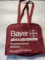 Bayer Trasylol Bag Tote Cardiology Pharma Pharmaceuticals Pens Biological