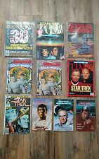 Star Trek Lot Of 10 -books and magazines Mid/High Grades