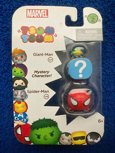 Tsum Tsum Marvel 3 Pack Spider-Man 148 Giant-Man 231 Mystery Character Series 2
