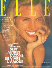 ▬►Elle 2268 (1989) JOHANNA RODES_AFFICHES GRUAU_DON JOHNSON_BENIGNI_ MODE
