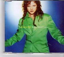 (FM937) Simply Red, Never Never Love  - 1996 DJ CD