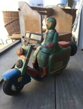 Yonezawa Toy Tinplate King Scooter Lots of Images Limited 1 Sold Out