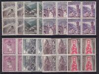 1963 -1979 ANDORRA - SERIES EN BLOQUES 4 - Edifil 60/132