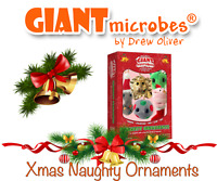 Giant Microbes *NEW RELEASE* 2020 Naughty Christmas Ornaments Themed Gift Box