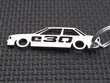 BMW E30 keyring M3 EVO COUPE ALPINA 320 323 325 325i BBS M KIT DRIFT TD keychain