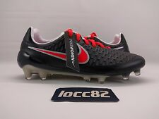Nike Women's Magista Opus FG Soccer Cleats Black Red Grey sz 5.5 (744948-061)