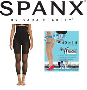NEW Spanx Original High-Waisted Footless Shaper Black Size 3 Love Your Assets