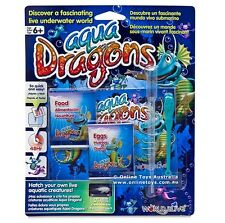Aqua Dragons Sea Monkeys Food & Eggs Pet Refill Kit Brine Shrimp