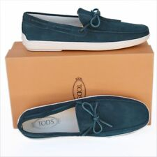 9be03f2ea63 TOD S Tods New sz UK 11.5 - US 12.5 Authentic Designer Mens Loafers Shoes  blue