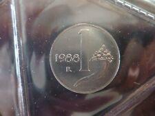 1 LIRA 1988 - REPUBBLICA ITALIANA - RARA