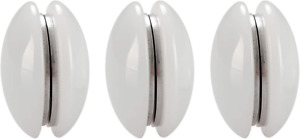 Magnetic Shower Curtain Weights 3 Pairs (Pack of 6)