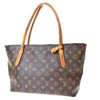Authentic LOUIS VUITTON Shoulder Bag Monogram Leather Brown Spain 84EX275