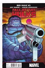 RED HULK #3 / FALL OF THE HULKS / PARKER / RODRIGUEZ / MARVEL COMICS