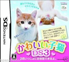 Used DS  Kawaii Koneko DS 3 NINTENDO JAPANESE IMPORT