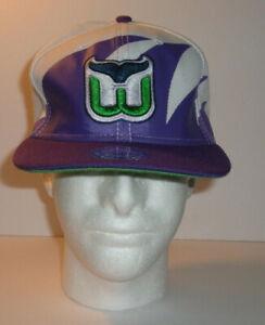 Hartford Whalers Snapback Vintage Hat Cap Rare Sharktooth