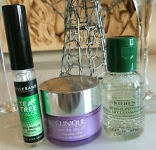 Clinique Tisserand Kiehl's 3 Minis Travel Size Cleansing & Soothing Set Free P&P