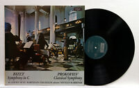 NEVILLE MARRINER - BIZET symphony in C PROKOFIEV classical symphony ARGO LP EX++