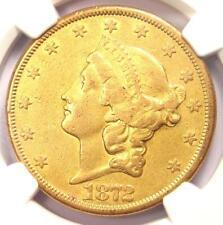 1872-CC Liberty Gold Double Eagle $20 - NGC XF Details - Rare Carson City Coin!