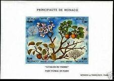 """MONACO BLOC 67 a """" QUATRE SAISONS DE L'ABRICOTIER NON DENTELE """" NEUF xx LUXE"""