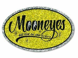 Neuer MOONEYES Moon Glitter Style Aufkleber Nostagic Vintage Smooth Pop Style