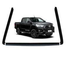 LOAD BED RAIL COVERS - TRIMS - FOR TOYOTA HILUX DOUBLE CAB 2019+