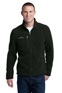 ✔️ MENS EDDIE BAUER Full Zip Fleece Jacket EB200 Black Size XS - BNWT