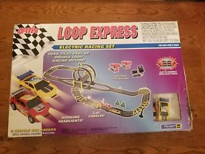 Vintage Artin Loop Express Muscle Car Race TRACK Electric Magna Power EUC