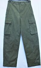 Genuine Indochina French Army M47 HBT Cargo Pants /Trousers  W31 L45