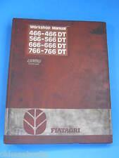 FIAT TRATTORI  466 566 666 766 DT  WORKSHOP MANUAL