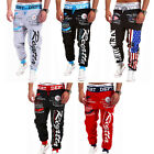 Mens Sports Jogger Hip hop Sportwear Baggy Harem Trousers Sweat Pants Slacks NEW