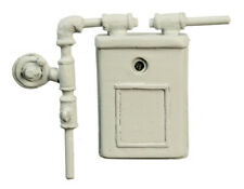 Dollhouse Miniature - Outdoor Gas Meter - Resin - 1:12 Scale