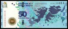 "Argentina 2015 ""to commemorate the malvinas war"" 50 Pesos BrandNew Banknotes"