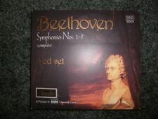 BEETHOVEN: SYMPHONIES NOS. 1-9 (COMPLETE) [BOX SET] NEW CD