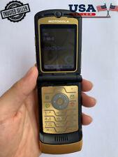 Refurbished Original Motorola Razr V3i Dolce &Gabbana Gold Unlocked Mobile Phone