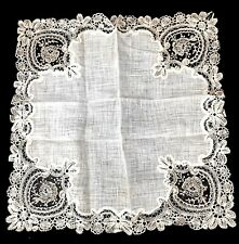 Antique Lace Wedding Handkerchief Unused