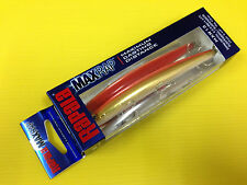 Rapala Max Rap MXR-13 CGFR, Chrome Gold Fl. Red Color Suspending Lure, NIB.