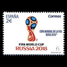 "Spain 2018 - Football ""FIFA World Cup Russia"" Soccer - MNH"