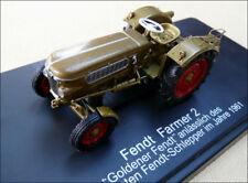 """SCHUCO tracteur FENDT Farmer 2 """"Goldener Fendt""""  échelle 1:43"""