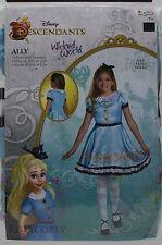 Halloween Disney Descendants Ally  Dress Up Deluxe Costume Size Medium 7-8 NWT