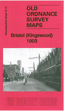 OLD ORDNANCE SURVEY MAP BRISTOL KINGSWOOD 1903
