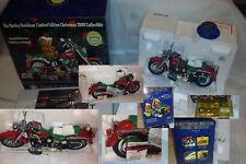 FRANKLIN MINT 2000 Harley Davidson Fat Boy Christmas Limited LE Motorcycle 9900