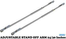 Davit ADJUSTABLE STAND OFF ARM 24/30 Inches for Inflatable dinghy BOAT