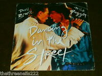 "VINYL 7"" SINGLE - DAVID BOWIE & MICK JAGGER - DANCING IN THE STREET - EA204"