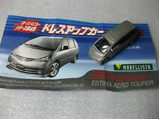 Toyota Estima Modellista Diecast Model Toy Car Dress Up Car Lawson Promo